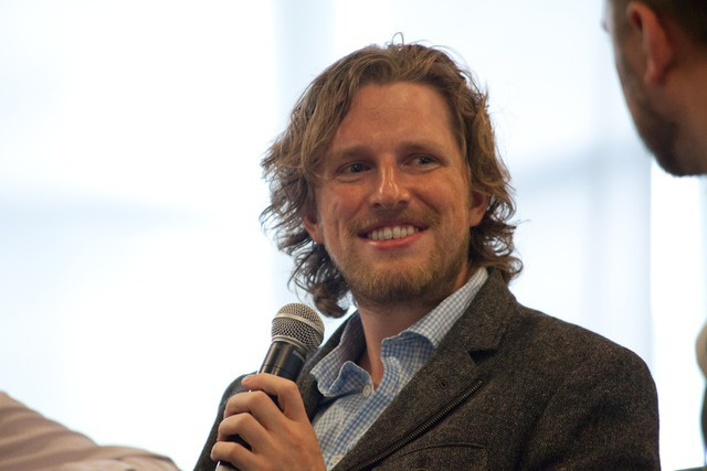 Dries Buytaert and Matt Mullenweg at SchipulCon 2011